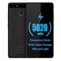 "Смартфон Vernee Thor E 3/16Gb, серый, 8/2Мп, 5"" IPS, 2 SIM, 4G, 5020мА"