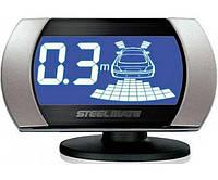Парковочный радар SM PTS810V2 black/silver для заднего и переднего бампера , Stelmate