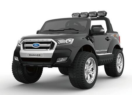 Детский двухместный электромобиль AT Ford Ranger 4X4 Black (F 650)