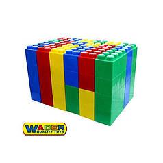 Конструктор Wader (Полесье) строительный XXL 72 элемента (41999)