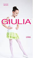 Тонкие шелковистые колготки для девочки Giulia LINA 20 ден KLG-D-26