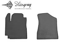 Geely GC 5 2014- Комплект из 2-х ковриков Черный в салон