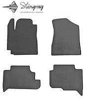 Geely GC 5 2014- Комплект из 4-х ковриков Черный в салон