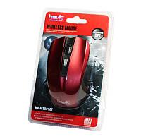 Мышь беспроводная Havit HV-M921GT, Red, USB, 2.4GHz, 800/1200/2000 dpi, до 10 м, 2xAAA, 4 кнопки