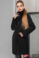 Зимнее пальто с мехом кролика,  разные цвета 8767