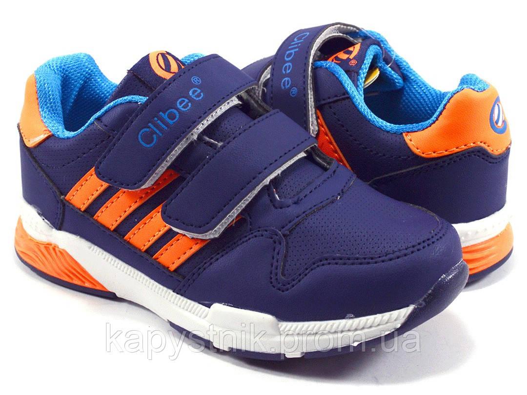 54b31559aa4b Детские кроссовки для мальчика р.31-36 ТМ Clibee F629 d blue-moon ...