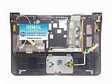 Оригинальная клавиатура для Samsung NP900X3A series, rus, black, передняя панель, тачпад, разъем питания, фото 2