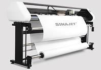 Плоттер для печати лекал на бумагу SINAJET POPJET 1811С-Z, с системой непрерывной подачи чернил