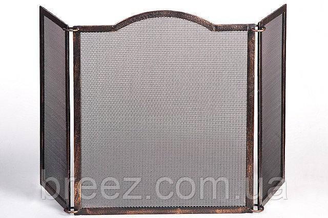 Кованая сетка для камина С 600, высота max 600 mm
