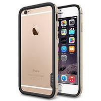 Бампер Spigen для iPhone 6S Plus/6 Plus Neo Hybrid EX Metal, Champagne Gold