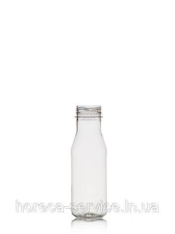 Бутылка пластиковая круглая с крышкой, 250мл., фото 2