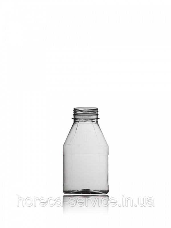 Бутылка пластиковая круглая с крышкой 450 мл.