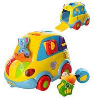 Развивающая игрушка Joy Toy Автошка, укр. (9198 UA)