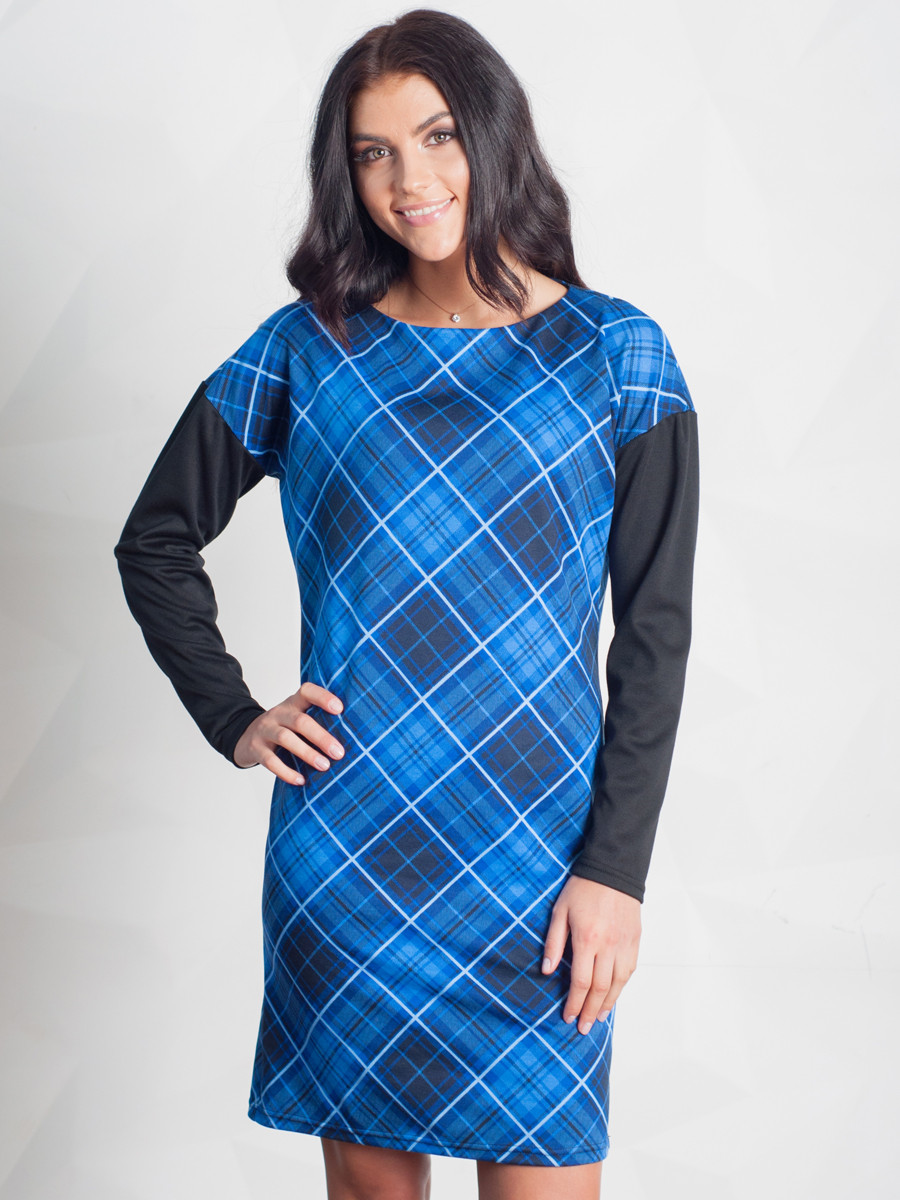 Женское повседневное платье 48