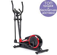 Орбитрек  Hop-Sport HS-050C Frost black/red для дома и спортзала