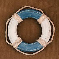 Винтажный спасательный круг, фото 1