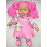 Пупс мягкий с розовыми волосами в светло - розовом платье Simba 5112238C
