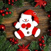 Новогоднее украшение Снеговик(Дед Мороз) с узором 0107
