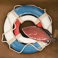 Винтажный спасательный круг