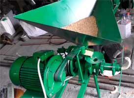 Экструдеры зерновые шнековые (бюджетные модели, возможна поставка без двигателя, 20-100 кг/час)