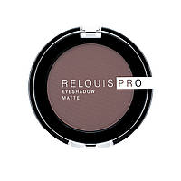 Тени для век RELOUIS PRO EYESHADOW MATTE 13 ICED COFFEE, фото 1
