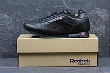 Мужские зимние кроссовки Reebok черные на меху, фото 3