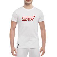 GlobusPioner Мужская футболка STI  Subaru 66671 , фото 1