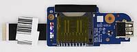 Плата USB+CardReader NS-A043 для Lenovo ThinkPad Edge E431 E531 KPI33257