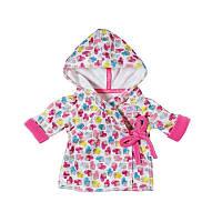 Одежда Халат для куклы Baby Born 43 см Zapf Creation 822463
