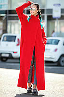Пальто вязаное Макси (10 цв), фото 1