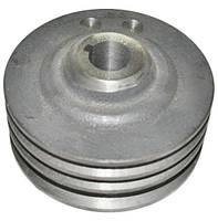 Шкив привода вентилятора 3-х ручьевой ЯМЗ 236 (пр-во Украина)
