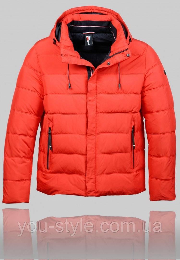 a0c3a3ffbb824 Мужская зимняя куртка Malidinu 4336 Красная - Интернет магазин