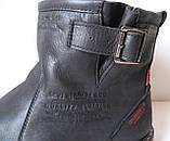 Levis! Зимние черные кожаные в стиле  Levi's Угги! Левис ботинки сапоги женские уги унисекс, фото 5
