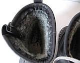 Levis! Зимние черные кожаные в стиле  Levi's Угги! Левис ботинки сапоги женские уги унисекс, фото 8