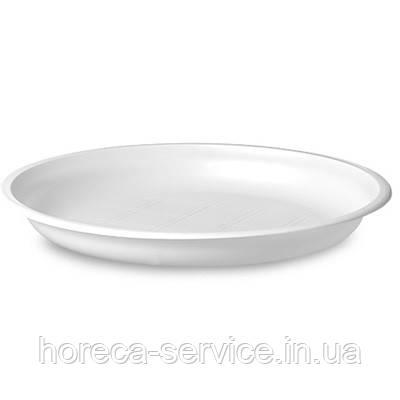 Тарелка плоская 100шт.