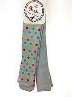 Махровые колготы для девочки Krebo р.80-86,104-110,116-122,128-134