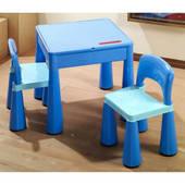 Комплект детской мебели Tega Baby Mamut стол + 2 стульчика  Blue