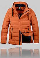 Мужская зимняя куртка Malidinu 4345 Коричневая