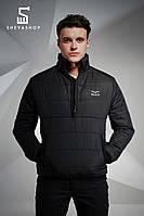 Анорак F&F Tailor, чёрный, фото 1