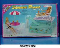 """Мебель """"Gloria"""" 2578 с бассейном для кукол 29 см"""