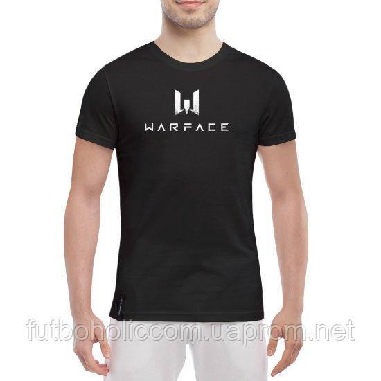 """GlobusPioner Мужская футболка Warface 65730  - """"Футбоголик"""" - Магазин говорящей одежды в Харькове"""