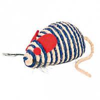 TRIXIE (Трикси) Мышь-сизаль 10см - игрушка для кошек