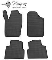 Skoda Roomster 2006- Комплект из 4-х ковриков Черный в салон