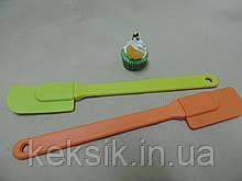 Лопатка силикон мини 24*3,5 цветная