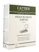 Cattier Super Fine White Clay 200g ( Белая глина микронизированная)