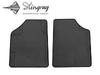 Uni variant комплект из 2-х ковриков черный в салон.