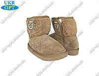 Подростковые угги (Код: 108-2 коричневый)