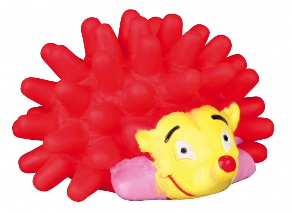 TRIXIE (Трикси) Виниловый ежик с пищалкой 7см - игрушка для кошек