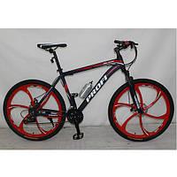 Спортивный велосипед Profi BLADE 26.1B лопастные колеса 26 дюймов (черный) ***