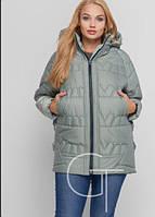 Женская куртка зимняя больших размеров, с 52 по 62 размер , фото 1